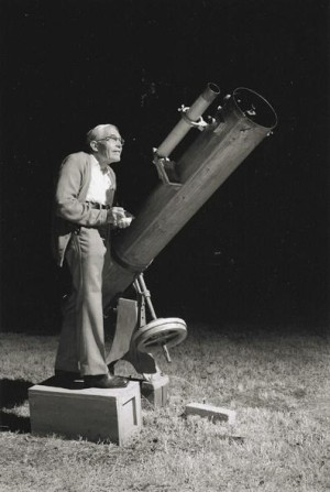 Discoverer of Pluto Clyde Tombaugh
